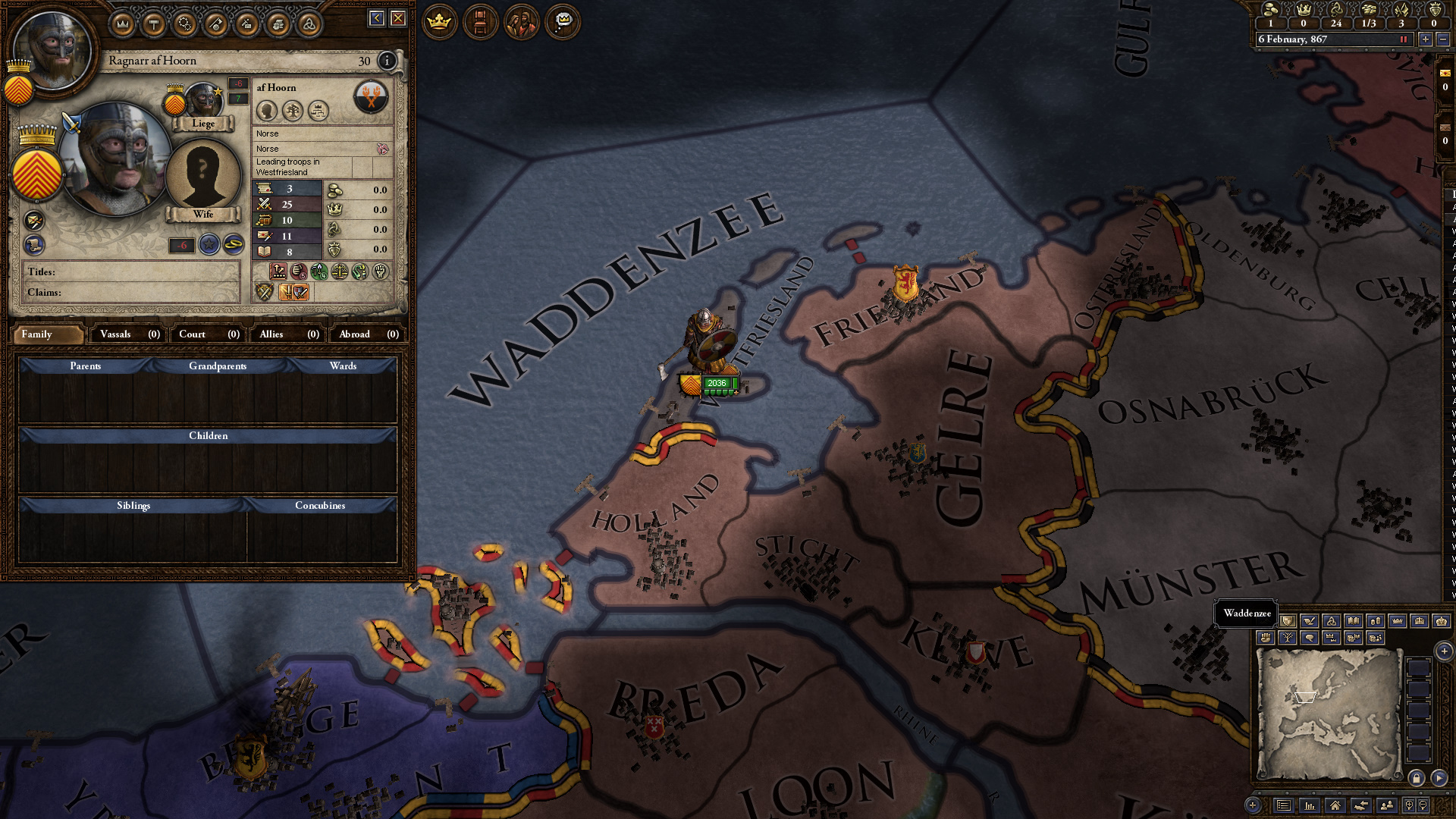 Crusader Kings 2 | Not Quite American